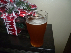 Home Brewed Prickly Pear Ale